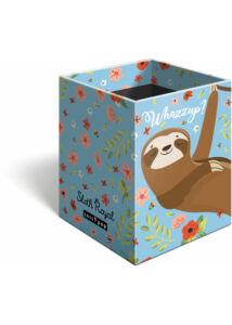 Asztali ceruzatartó Lollipop Sloth Royal
