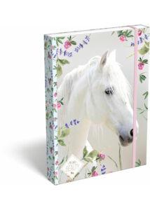 Füzetbox A/4 Wild Beauty White