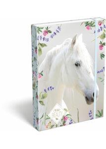 Füzetbox A/5 Wild Beauty White