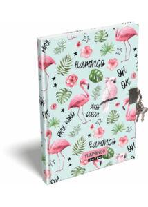 Emlékkönyv A/5 Lollipop Flamingó