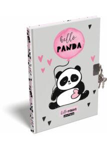 Emlékkönyv A/5 Lollipop Hello Panda