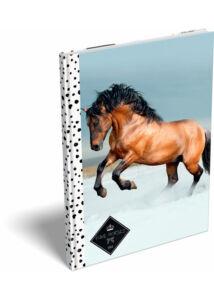 Notesz keményfedeles A/5 Geo Horse Snow