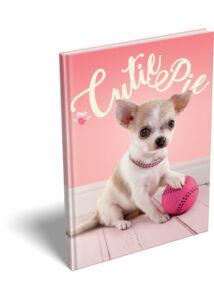 Notesz keményfedeles A/5 Pet Cutie Pie