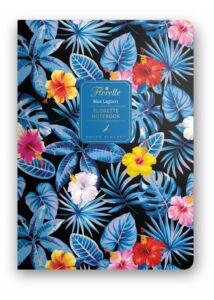 Florette Notebook A5 Dolce Blocco Blue Lagoon