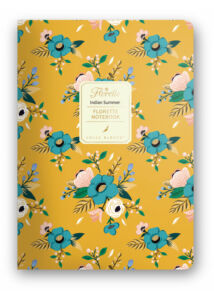 Florette Notebook A5 Dolce Blocco Indian Summer