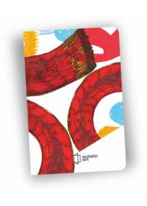 Notesz varrott A/6 Autistic Art Kalocsai Nóra