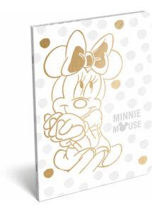 Füzet tűzött A/4 kockás 87-32 exkluzív Minnie Fashion White
