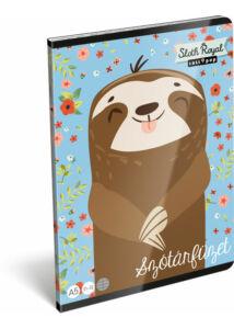 Füzet tűzött A/5 szótár 31-32 Lollipop Sloth Royal
