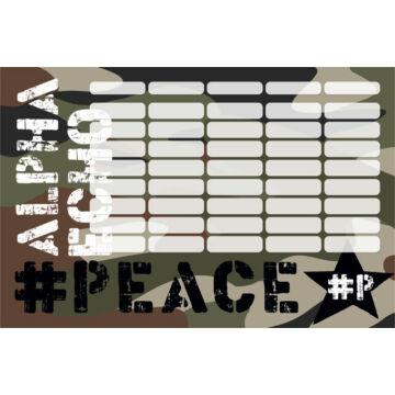 Órarend nagy #peace Alpha