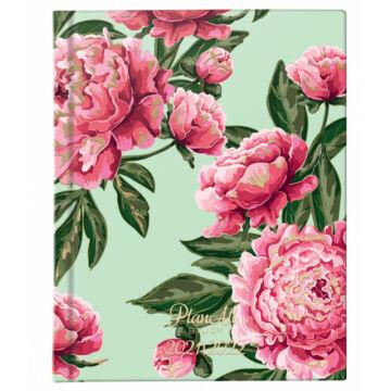 Mid-year diák tervező B6 PlanAll Study 2022 Pink Flower