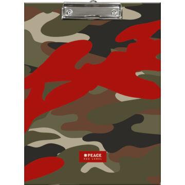 Felírótábla #peace Red Label