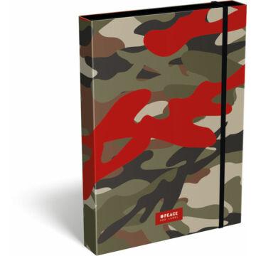 Füzetbox A/4 #peace Red Label