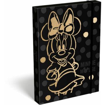 Füzetbox A/4 exkluzív Minnie Fashion Black