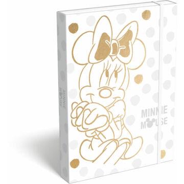 Füzetbox A/4 exkluzív Minnie Fashion White