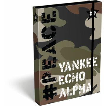 Füzetbox A/5 #peace Alpha