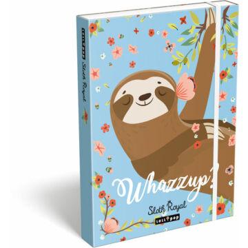 Füzetbox A/5 Lollipop Sloth Royal