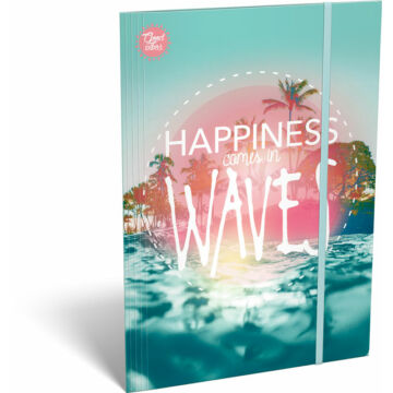 Gumis mappa A/4 Good Vibes Wave