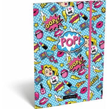Gumis mappa A/4 Lollipop POP