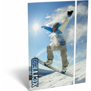 Gumis mappa A/4 X-cited Snowboard