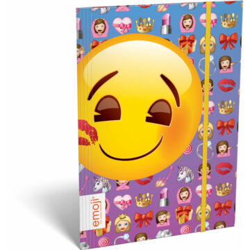 Gumis mappa A/5 emoji Girls