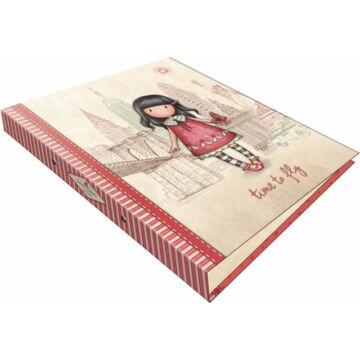 Gyűrűs könyv 2 gyűrűs exkluzív Gorjuss Time to Fly