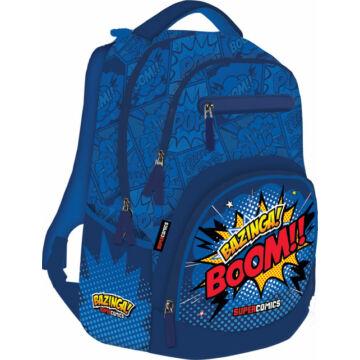 Iskolatáska Active+ Supercomics Bazinga