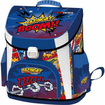 Iskolatáska prémium Supercomics Bazinga