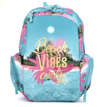 Iskolatáska Teen+ Good Vibes Beach Vibes Only