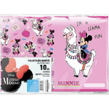 Füzetborító képes A/5 Minnie Mouse Lama