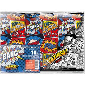 Füzetborító képes A/5 Supercomics Bazinga