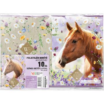 Füzetborító képes A/5 Wild Beauty Brown 10 db/cs