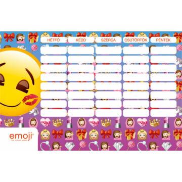 Órarend nagy Emoji Girls