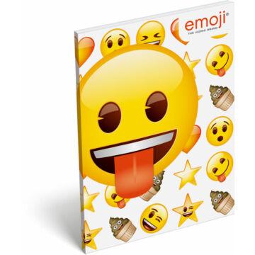 Papírfedeles notesz A7 emoji Ice Cream