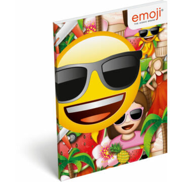 Papírfedeles notesz A7 emoji Sunny