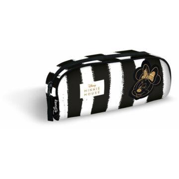 Tolltartó bedobós textil Small Minnie Fashion Black Stripes