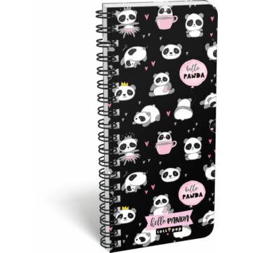 Füzet spirál szótár exkluzív Lollipop Hello Panda