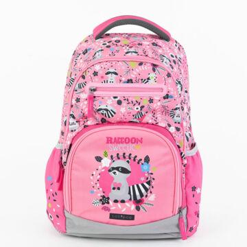 Iskolatáska Active+ Lollipop Raccoon