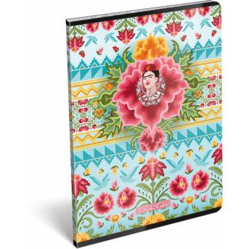 Füzet tűzött A/4 kockás 87-32 Frida Kahlo Cielo Azul