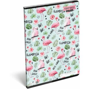 Füzet tűzött A/4 kockás 87-32 Lollipop Flamingó