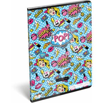 Füzet tűzött A/4 vonalas 81-32 FSC Lollipop POP