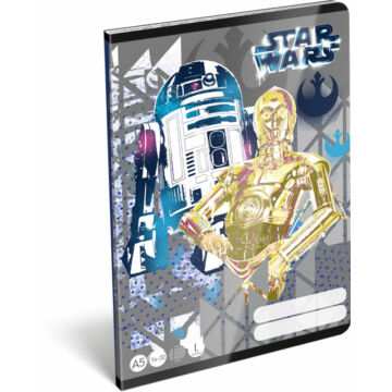 Füzet tűzött A/5 1.o. 14-32 Star Wars Heroes Droids