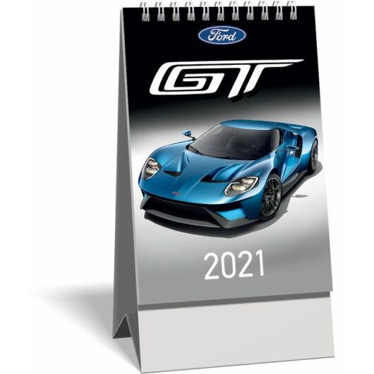 Asztali naptár spirálozott kis képes 2021, Ford GT