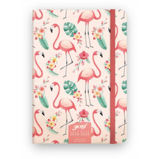 JOY Calendar B6 Flamingo