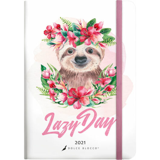 Secret Calendar B6 2021 Lazy Day