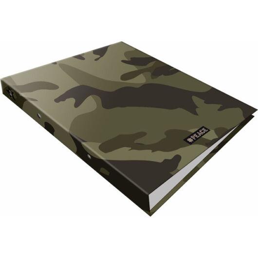 Gyűrűs könyv 2 gyűrűs #peace Green
