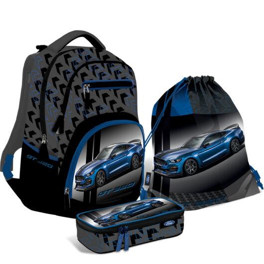 Iskolatáska szett Active+ Ford Mustang Blue