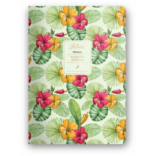 Florette Bullet Journal Dolce Blocco Hibiscus