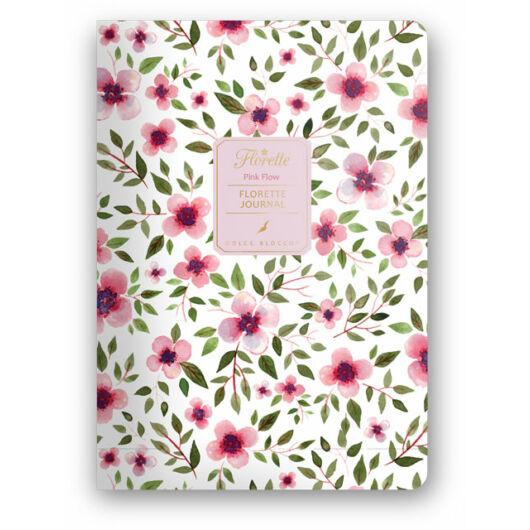 Florette Bullet Journal Dolce Blocco Pink Flow
