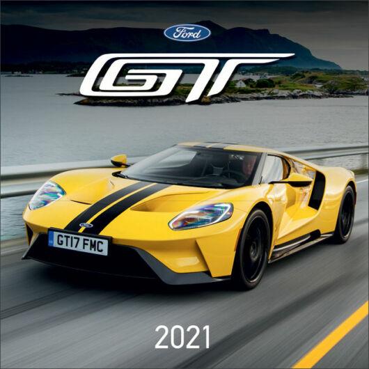 Falinaptár lemez nagy 2021 Ford GT