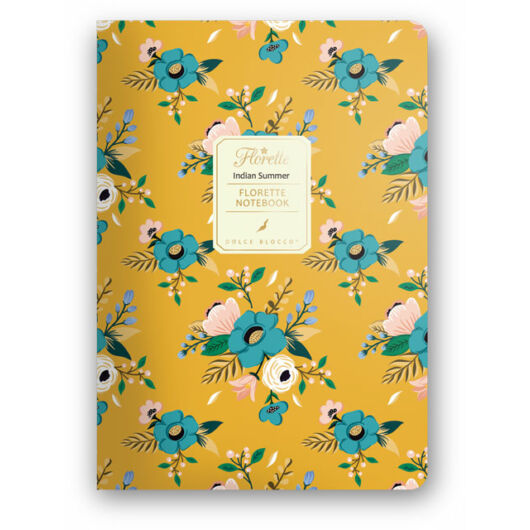 Florette Notebook A5 Dolce Blocco Indian Summer